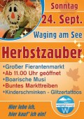 Herbstzauber in Waging am See am So., 24.09.