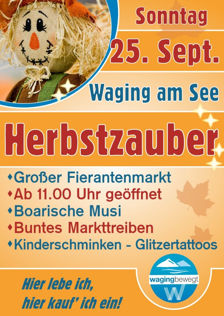 Herbstzauber in Waging