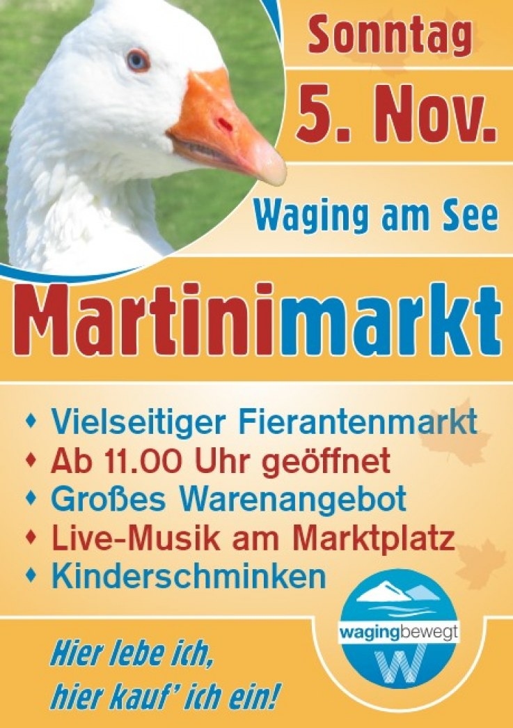 Martinimarkt am Sonntag, 5. November